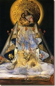 La Virgen de Guadalupe by Salvador Dali (1959).