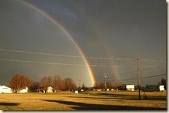Double Rainbow Lexington, NC by RickKilian 1-7-09