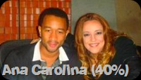 "Ana Carolina featuring John Legend, ""Entre Olhares"""
