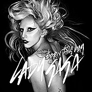 "Capa do single ""Born This Way"""
