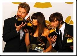 Lady Antebellum faturou cinco prêmios no Grammy 2011