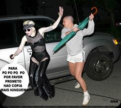 Corre Gaga! A Britney não está de brincadeira...
