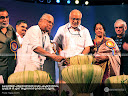 IFFK 2008 Inauguration: Chief Minister V.S. Achuthanandan Inaugurating the event by lighting the lamp.