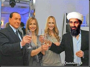 LE IMMAGINI DI SILVIO BERLUSCONI ALLA FESTA DI NOEMI LETIZIA MAN