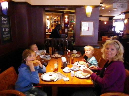 Første kafèbesøk i London