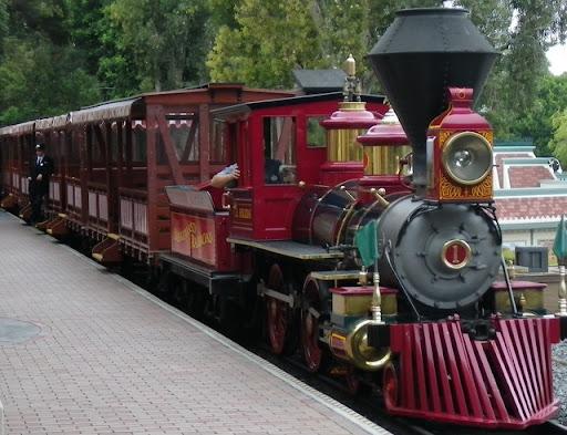 Disneyland - tog