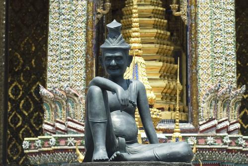 Hermit%20Sculpture%20in%20Wat%20Phra%20Kaew - Some Sculptures in Wat Phra Kaew