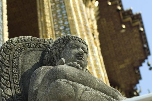 Buddha%20Stone%20Sculpture%20in%20Wat%20Phra%20Kaew - Some Sculptures in Wat Phra Kaew