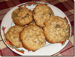 Simple Cookery Date Oatmeal Cookies