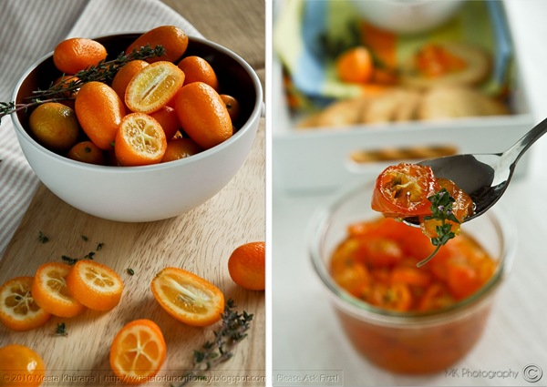 Candied Thyme Kumquats Diptych (01) by MeetaK