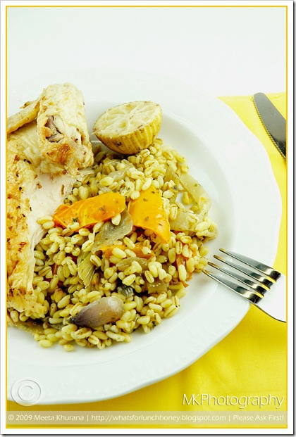 Lime Chicken Veg Farro (03) by MeetaK