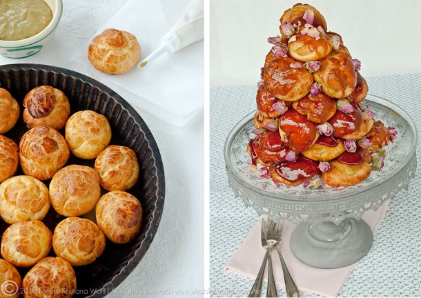 Croquembouche Diptych by MeetaK