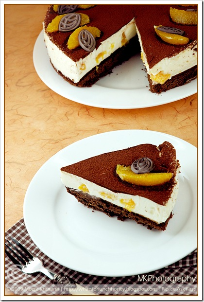 Orange Tiramisu Torte (04) by MeetaK