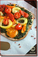 SpinachTomatoPizza 01 framed