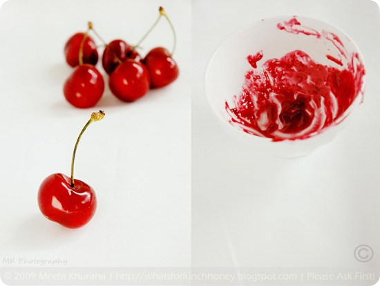 Cherry Collage by MeetaK