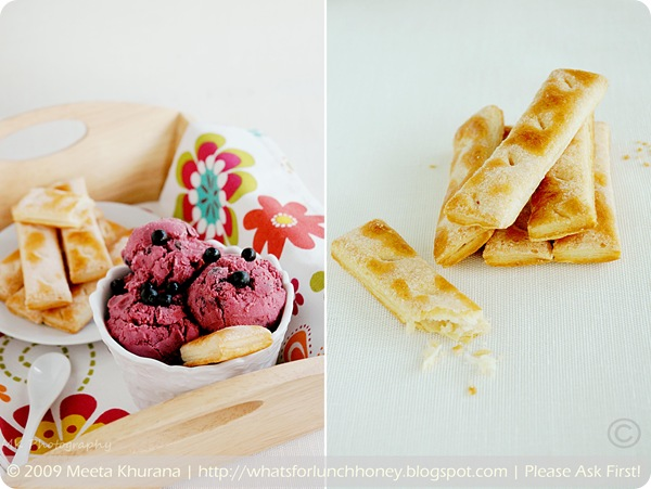 Blueberry Lime Coconut Ice Cream Diptych (01) by MeetaK