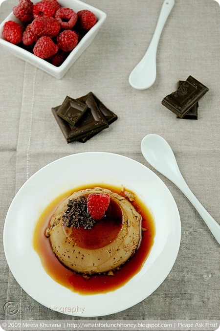 Chocolate Raspberry Creme Caramel (01) by MeetaK