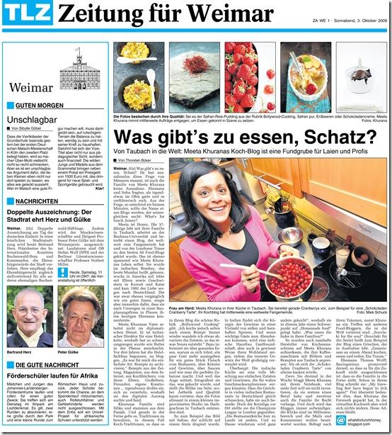 TLZ Weimar 30.10,09