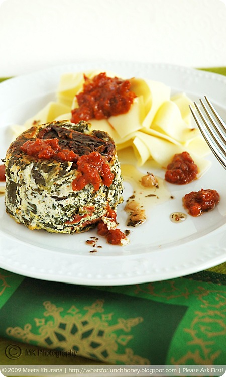 Ricotta Spinach Timbales (01) by MeetaK