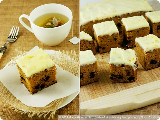 Pumpkin Carrot Cake Collage by MeetaK