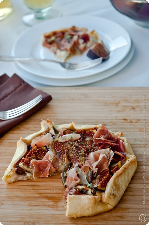Fig Gorgonzola Crostata (0032) by MeetaK