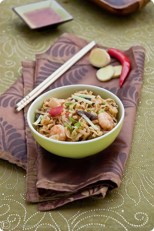Thai Red Curry Prawn Noodles (001) by Meeta K. Wolff
