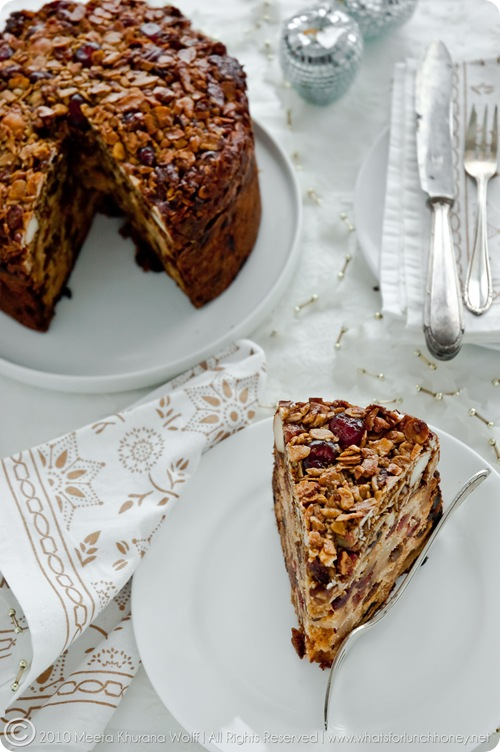 Florentine Christmas Cake (0027) by Meeta K. Wolff