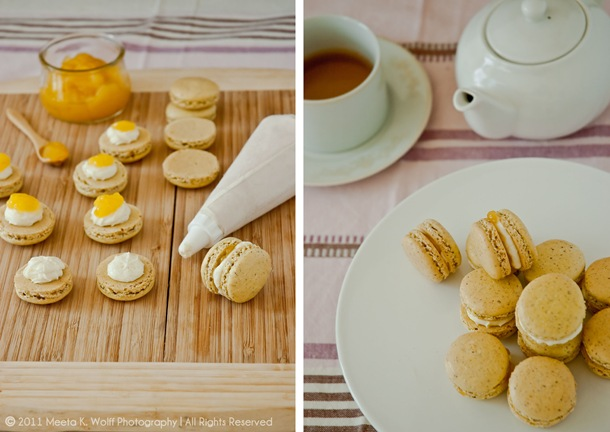 Lemon Pepper Macarons Diptych by Meeta K. Wolff