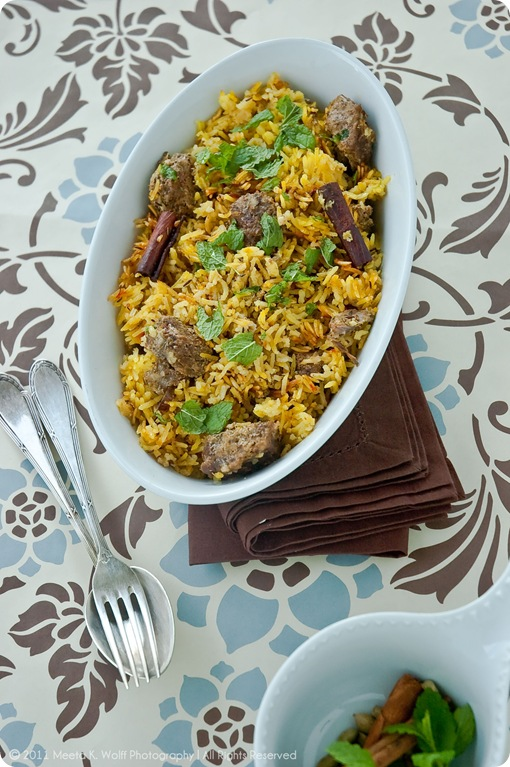 Hyderabadi Lamb Biryani (0020) by Meeta K. Wolff