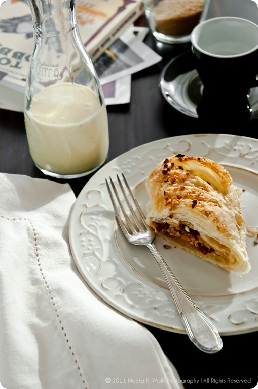 Cinnamon Kissed Apple and Goji Berry Strudel 0009 by Meeta K. Wolff