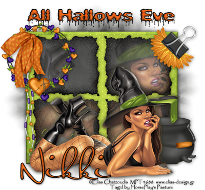 Halloween Candy Nikki