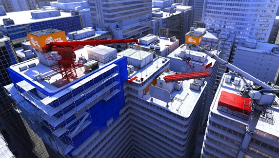 mirrors edge large city