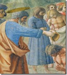 baptism detail
