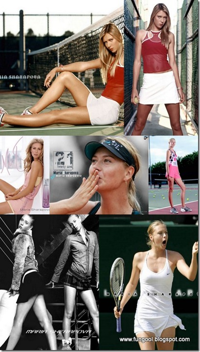 MARIA SHARAPOVA WALLPAPERS {H33T}(www.fungool.blogspot