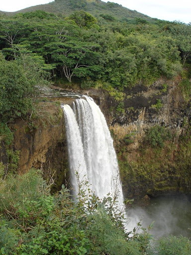 Fantasy Island waterfall from road.