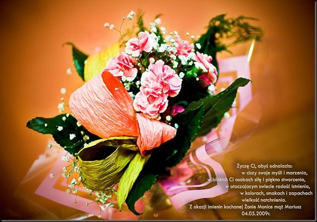 Fotografia ślubna I Okolicznościowa Imieniny Moniki 04052009r