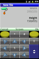 Screenshot of PaintCAD donate version