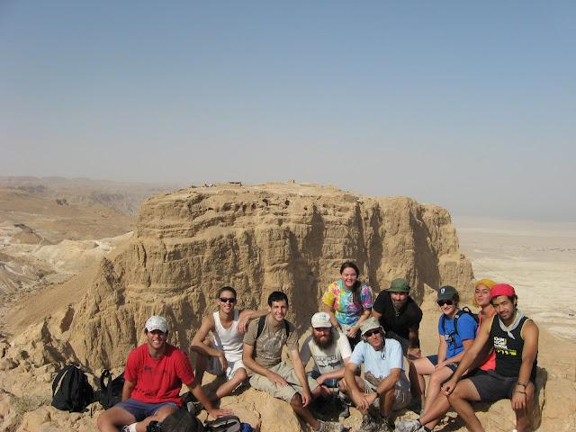 Overlooking Masada