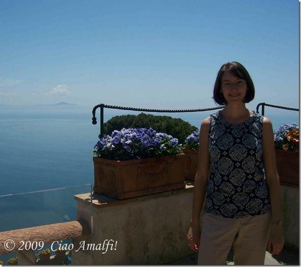 Ciao Amalfi Blog Villa Rufolo Laura