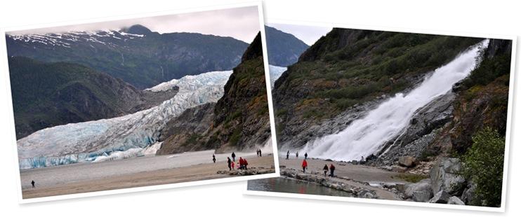 View Mendenhall Glacier