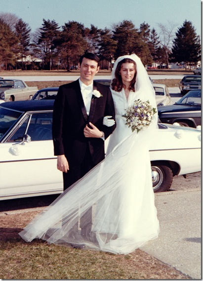 Rich and Linda - April 11, 1970