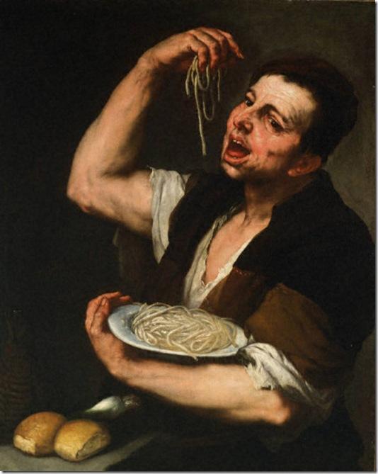 pasta eater