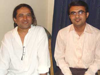 Devang Vibhakar with Pan Nalin