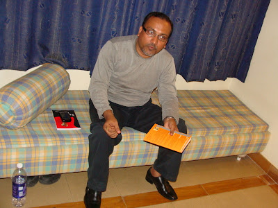 Jagdish Joshi with book