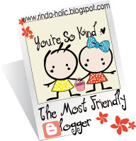 The Most Friendly Blogger Award dari UciL