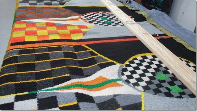 Ragnhild Monsen - SAA tapestry remount