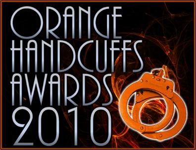 Orange Handcuffs Awards 2010 Image blaxkish