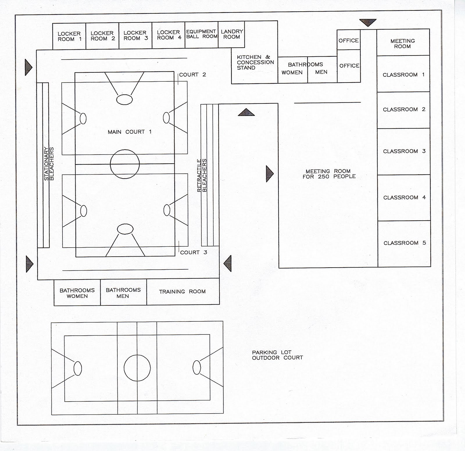 Diagram of basketball court basketball scores for Basketball court plan