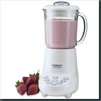 SmartPower 7-Speed Electronic Blender in White