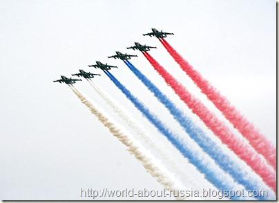 Витязи в небе над Москвой